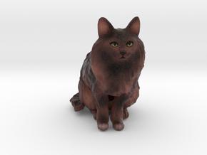 Custom Cat Figurine - Bob in Full Color Sandstone