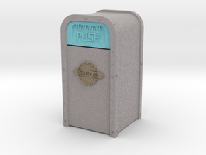 Tomorrowland Trash Can in Full Color Sandstone