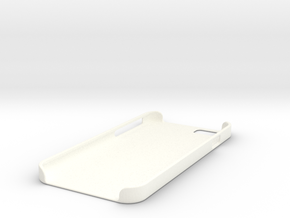 Iphone 6 Case Flat in White Processed Versatile Plastic