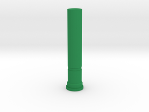 11's Sonic Screwdriver (Green Core) in Green Processed Versatile Plastic