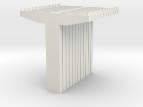 Bridge Supports V2 N Scale in White Strong & Flexible