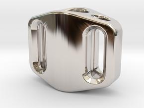 Pedal Bead Ver.1: Tritium (All Materials) in Platinum