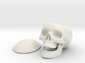 SkullStash bowl in White Strong & Flexible