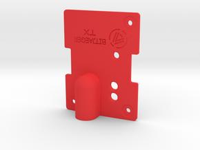 JR Module Top in Red Processed Versatile Plastic