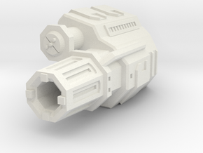 "Somtaaw ""Explorer"" Siege Cannon in White Natural Versatile Plastic"