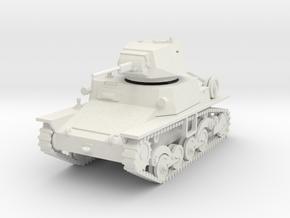 PV81A Italian L6/40 Light Tank (28mm) in White Natural Versatile Plastic