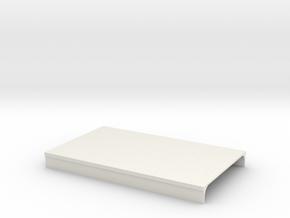 N Scale Platform Piece 100x60  in White Natural Versatile Plastic