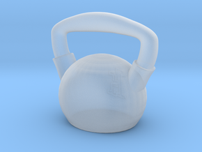 Kettlebell  - Made of Steel in Smooth Fine Detail Plastic
