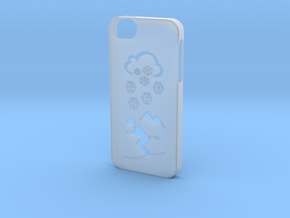 Iphone 5/5s winter case in Smooth Fine Detail Plastic