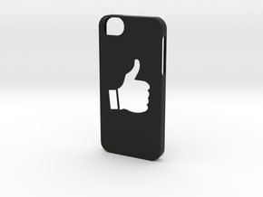 Iphone 5/5s thumbs up case  in Black Strong & Flexible