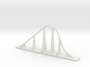 Raging Bull Roller Coaster in White Natural Versatile Plastic