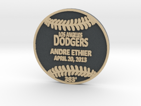 Andre Ethier in Full Color Sandstone