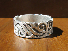 Ocean Kelp Forest Ring in Frosted Ultra Detail
