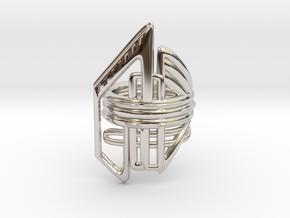 Balem's Ring2 - US-Size 10 1/2 (20.20 mm) in Platinum