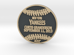 Curtis Granderson2 in Full Color Sandstone