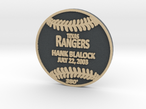 Hank Blalock in Full Color Sandstone
