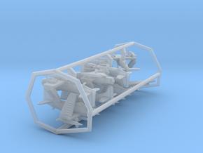 AD4/A-1 w/gear x8 (FUD) in Smooth Fine Detail Plastic: 1:500