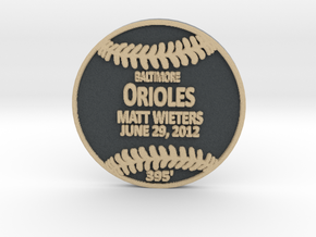 Matt Wieters in Full Color Sandstone