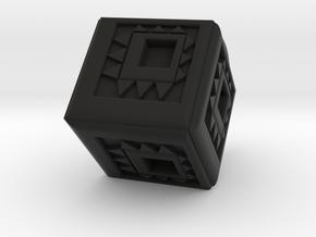 Cubical in Black Natural Versatile Plastic