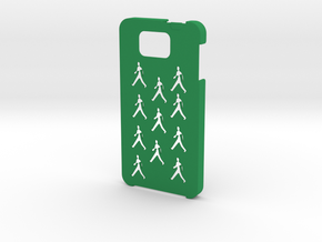 Samsung Galaxy Alpha People case in Green Processed Versatile Plastic