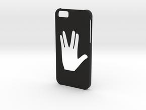 Iphone 6 Star trek case in Black Natural Versatile Plastic