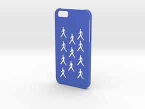 Iphone 6 People case in Blue Processed Versatile Plastic