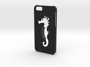 Iphone 6 Hippocampus case in Black Natural Versatile Plastic