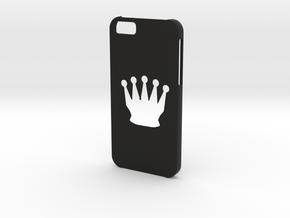 Iphone 6 Chess queen case in Black Natural Versatile Plastic