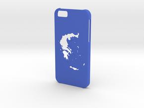 Iphone 6 Greece case in Blue Processed Versatile Plastic