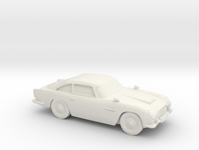 1/87 Aston Martin DB5 in White Natural Versatile Plastic
