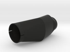 Honda XL600 Right Side Air Manifold ('83-'87) in Black Natural Versatile Plastic