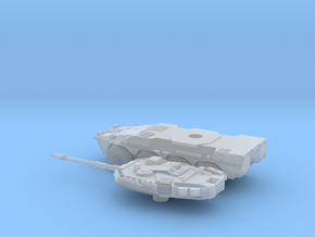 Centauro-2-piezas-144 in Smooth Fine Detail Plastic