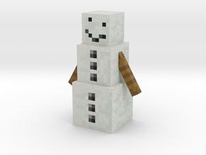 Snowman in Full Color Sandstone