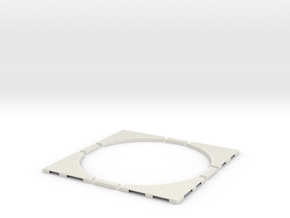 T-45-wagon-turntable-200d-200-corners-large-1a in White Strong & Flexible