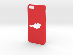 Iphone 6 Austria case in Red Processed Versatile Plastic
