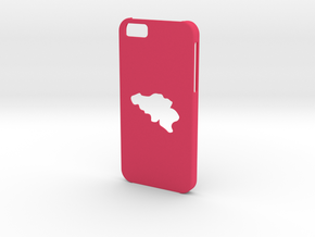 Iphone 6 Belgium Case in Pink Strong & Flexible Polished
