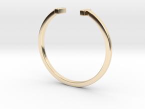 Minimal Elegance Bracelet in 14K Yellow Gold