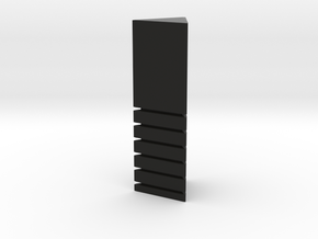 Standing stone in Black Natural Versatile Plastic