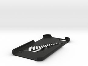 Silver Fern iPhone 6 case  in Black Natural Versatile Plastic