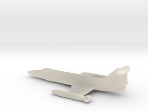 F104 Star Fighter 1 To 400 in White Acrylic