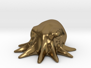 Mini Octopus in Polished Bronze