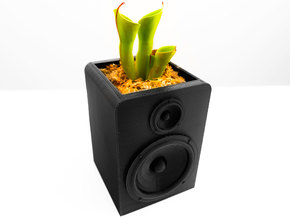 Speaker Planter in White Strong & Flexible