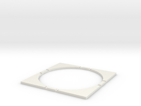 T-32-wagon-turntable-168d-200-corners-flat-1a in White Natural Versatile Plastic
