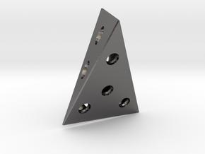 Isodie 11 in Polished Nickel Steel