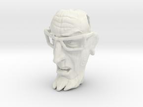 Dr Venture Pendent-Tiki style in White Natural Versatile Plastic
