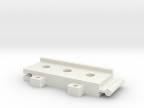 Connector Sma 2 in White Natural Versatile Plastic