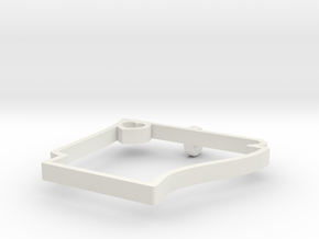 Arkansas Necklace in White Natural Versatile Plastic