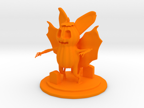 Jack O'Bat in Orange Processed Versatile Plastic
