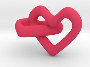 Hearts in Pink Processed Versatile Plastic