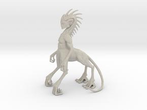 Alien Centaur in Natural Sandstone